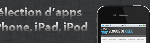 iOS Apps Banner 520x150 - Sélection d'apps iOS du jour