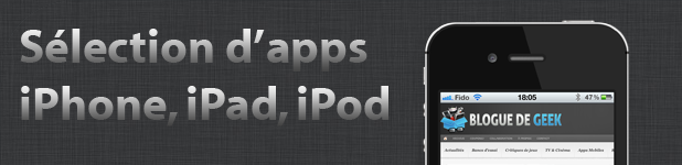 Sélection d'apps mobiles iOS du jour [30 août 2012]