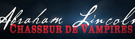Abraham lincoln chasseur vampire logo 520x150 - Abraham Lincoln, Chasseur de Vampires : Quelle histoire  !