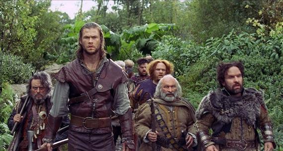 The Dwarves in Snow White and the Huntsman  - Blanche-Neige et le chasseur : Le coté sombre d'un conte