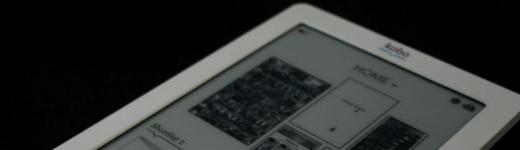 Kobo eReader Touch - Entête
