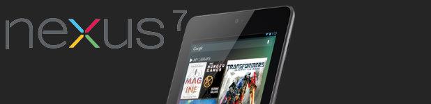 google nexus 7 - Google Nexus 7, les détails