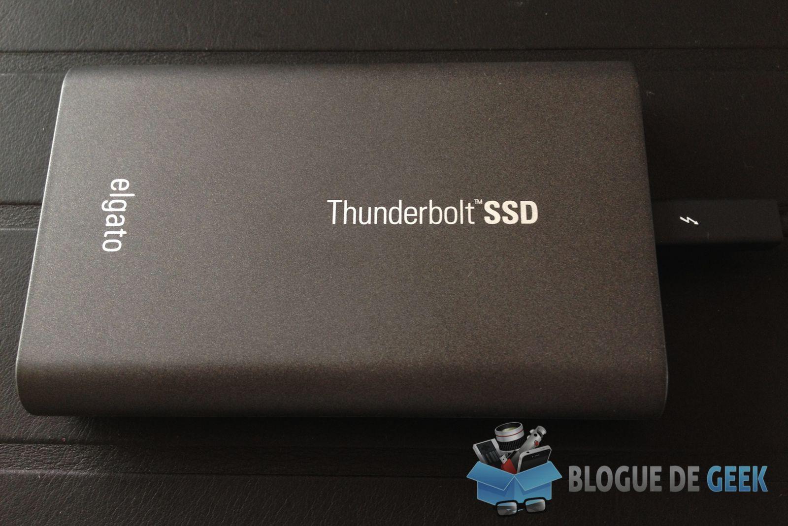 Disque Externe Elgato Thunderbolt Ssd 120go Test
