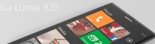 Nokia Lumia 820, Lumia 920 et accessoire en résumé