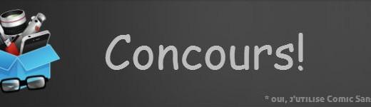 concours banniere 520x150 - Gagnez une carte SDHC 32Go de Lexar [Concours]