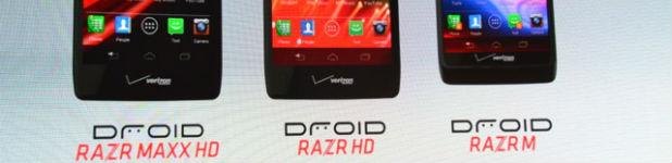 famille droid - Motorola Droid RAZR M, RAZR HD et RAZR MAXX HD [Aperçu]