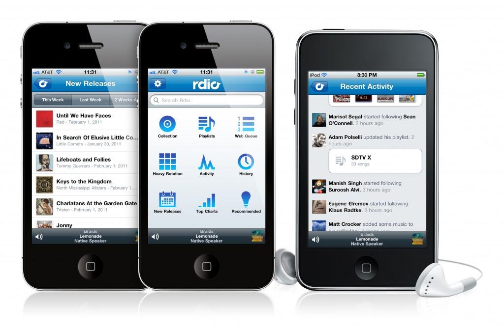 Rdio un essai de la plateforme musicale test - Couper un morceau de musique en ligne ...