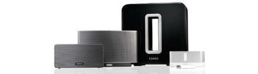 sonos family 520x150 - Sonos Play:3 et Sub [Test]