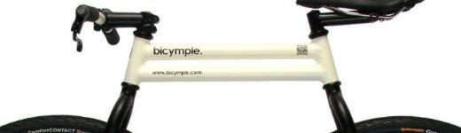 bicymple 520x150 - Le bicymple, un design de vélo sans chaine