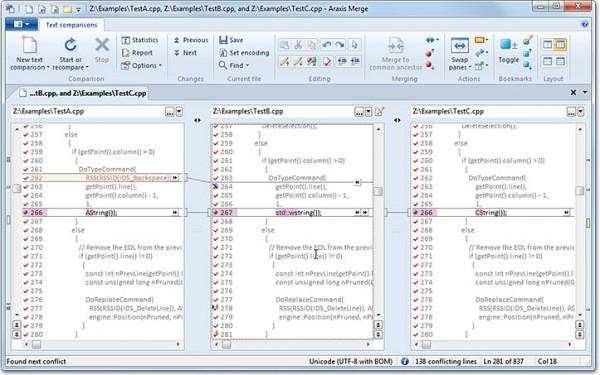 AutoMerged 600x375 - Araxis Merge, comparer, fusionner et même avec des dossiers