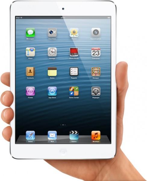 ipad mini 488x600 - Les cadeaux techno pour Noël 2012