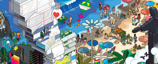 Rio de Janeiro - eBoy (en-tête)