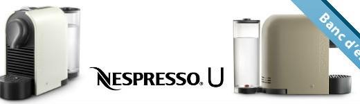 nespresso 520x150 - Nespresso U, flexible et compacte [Test]