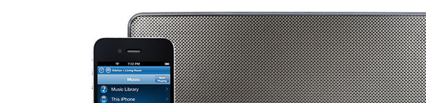 Sonos joue maintenant la librairie de votre appareil!