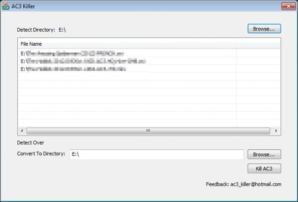 ac3killer 1 600x407 - Comment écouteur des films avec piste audio AC-3 et TrueHD sous GoodPlayer, GPlayer et autre [Tutoriel]