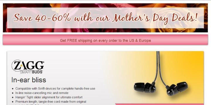 1 zagg - Suggestions de cadeaux pour votre Maman
