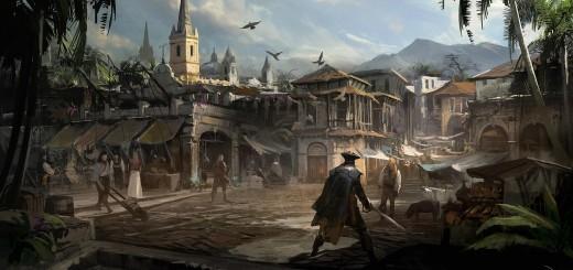 ACIVBFLaHavane 520x245 - Assassin's Creed IV Black Flag, nouveau vidéo (et images!)