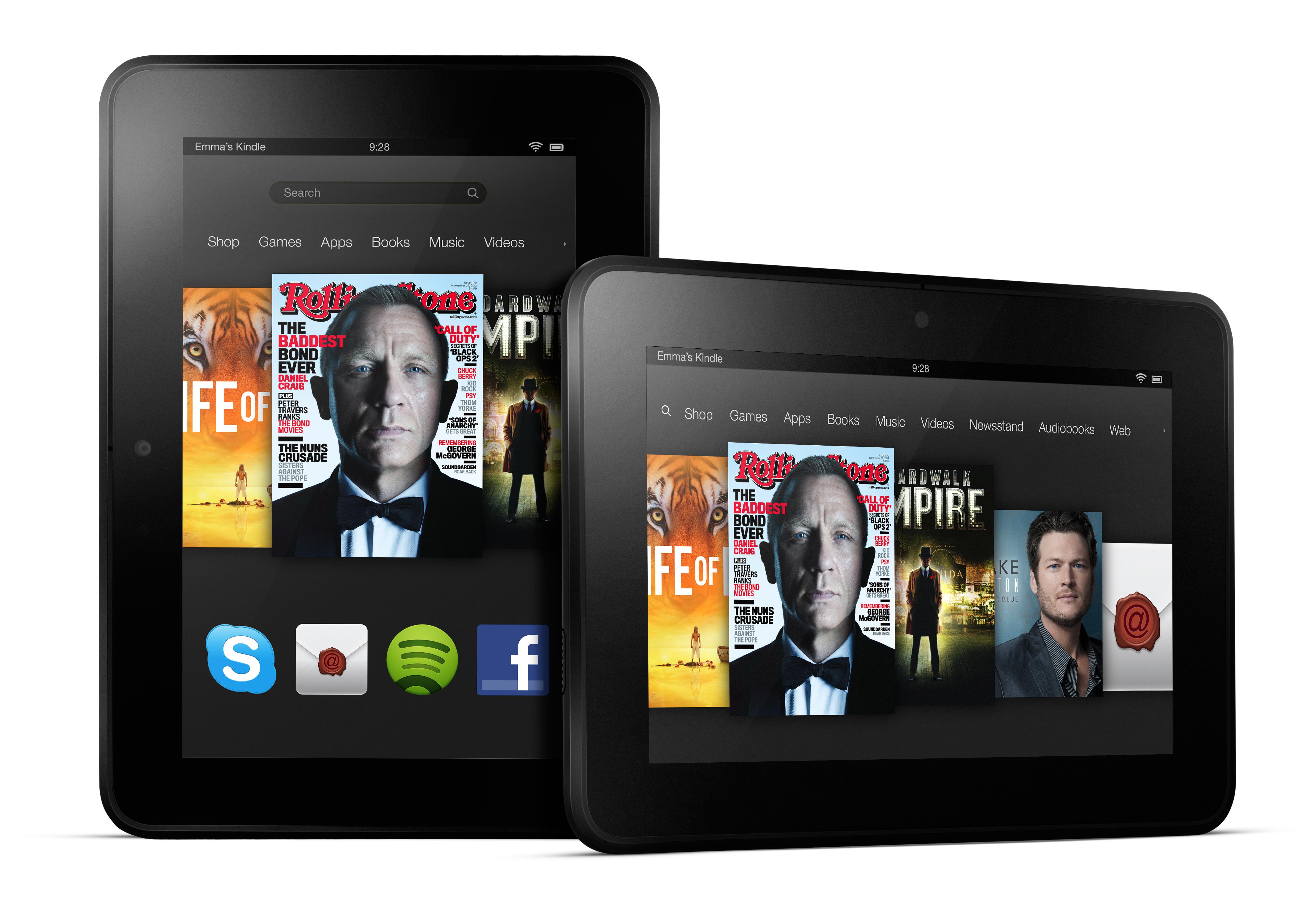 """KFHD7 PAIR - Les Kindle Fire HD et Fire HD 8.9"""" disponibles au Canada!"""