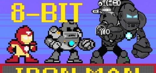 header image 1369666324 520x245 - Iron Man raconté en 60 secondes, en 8-bit!