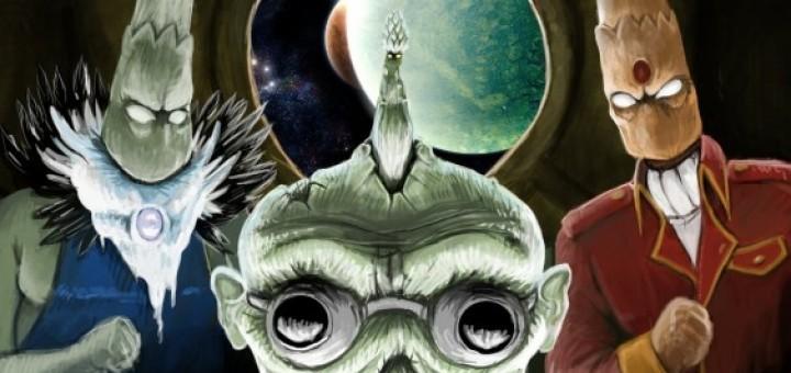 Kachot, quand les asperges extra-terrestres débarquent [Indie Comic]