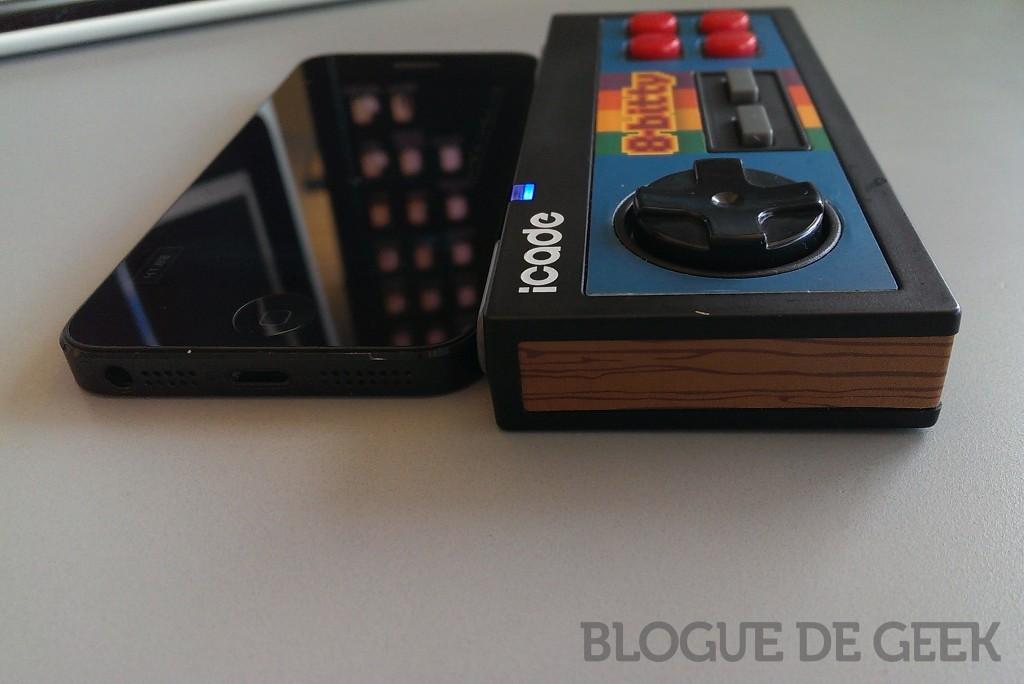 photo 2 1024x684 - Controlleur sans-fil iCade 8-Bitty de ThinkGeek [Test]