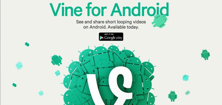 header image 1370276809 - Vine est maintenant disponible sur Android!