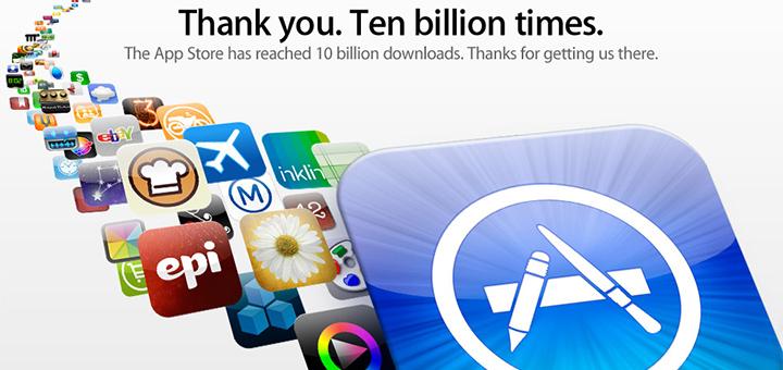 appstore - Pour les 5 ans de l'iTunes App Store plusieurs applications deviennent gratuites!