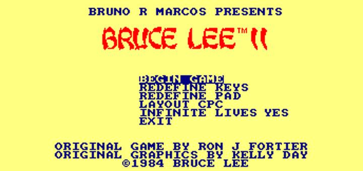 gallery bruce2 thumb - Bruce Lee II, la suite du jeu micro de 1984
