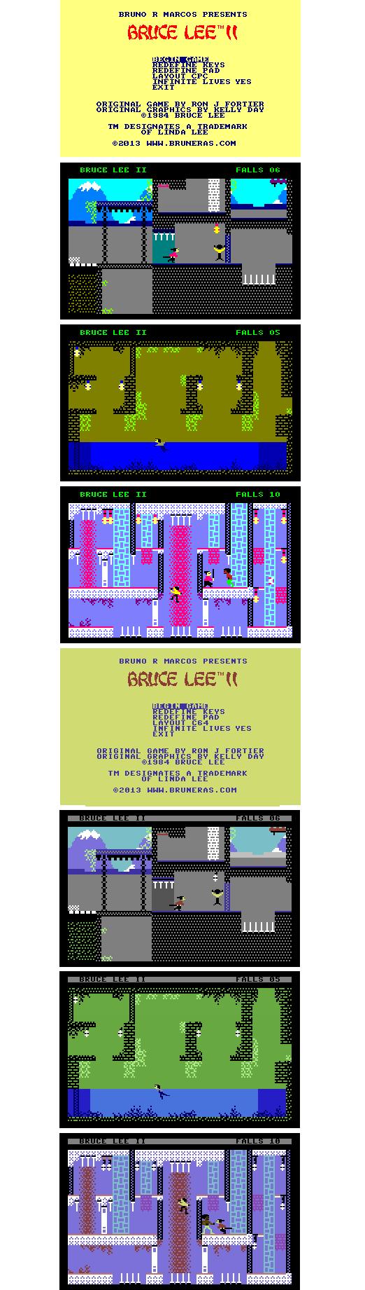 gallery bruce2 - Bruce Lee II, la suite du jeu micro de 1984