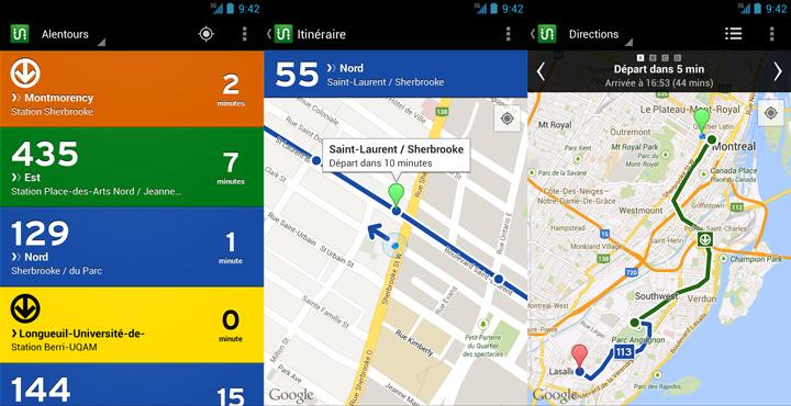 transit android - Transit est maintenant disponible sur Android!