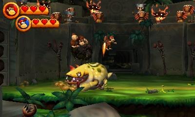 i 38764 - Critique de Donkey Kong Country Returns 3D (3DS)