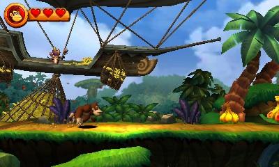 i 38766 - Critique de Donkey Kong Country Returns 3D (3DS)