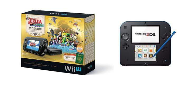 Nouvelles consoles de Nintendo: une Wii U Zelda Wind Waker et la 2DS!