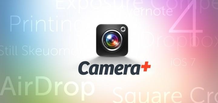 Camera+ 4 optimisé pour iOS 7 est là!