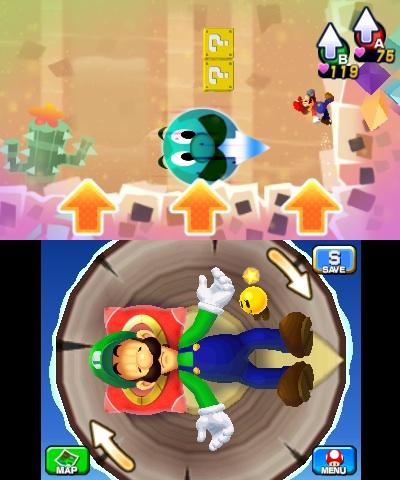 i 40040 - Critique de Mario & Luigi: Dream Team (3DS)