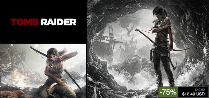 Tomb Raider à -75% jusqu'à demain soir sur les serveurs Steam!