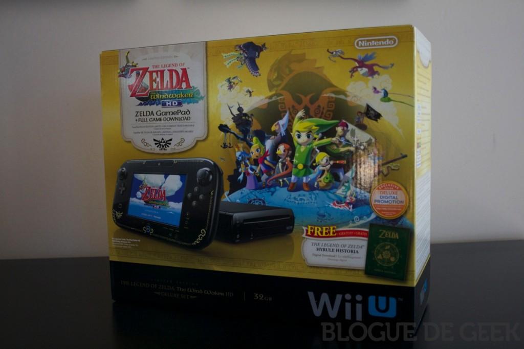 IMG 8847 imp 1024x682 - Aperçu de la Wii U Édition spéciale Zelda Wind Waker HD