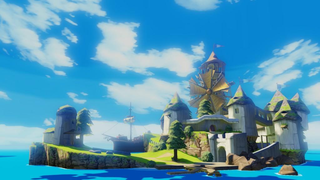 wind waker hd 1 1024x576 - Critique de Legend of Zelda: Wind Waker HD (Wii U)