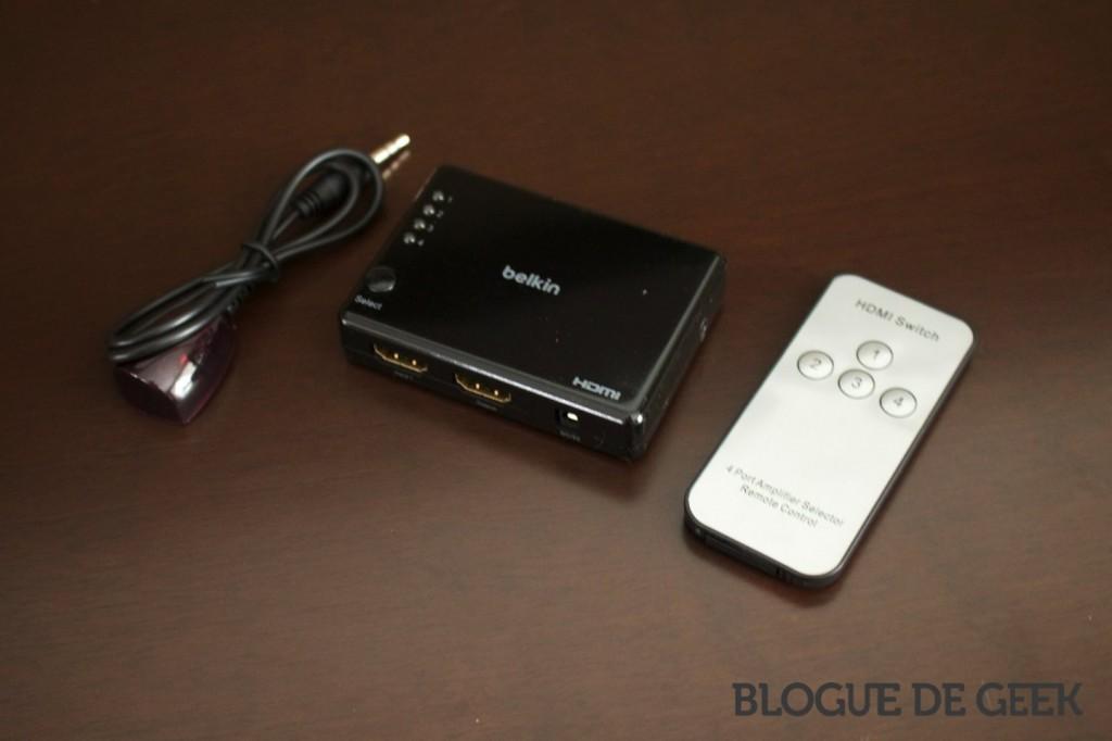 IMG 0279 imp 1024x682 - Concentrateur HDMI 4 ports de Belkin [Test]
