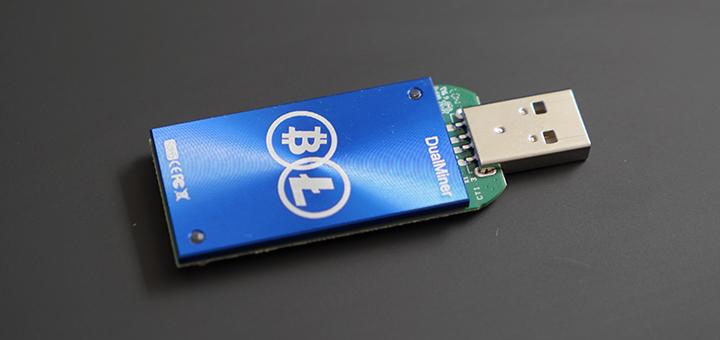 Test du DualMiner USB 2, une version Scrypt uniquement