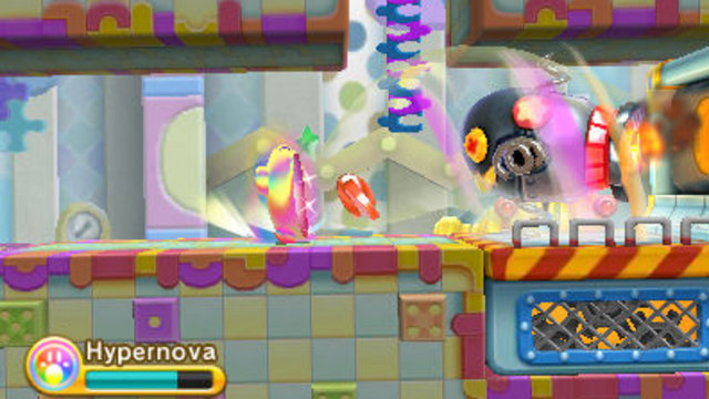 Kirby Triple Deluxe screenshot - Critique de Kirby Triple Deluxe [3DS]
