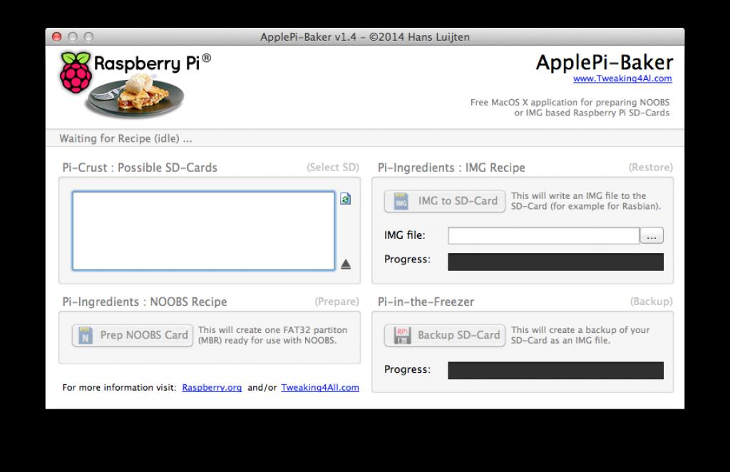 applepi baker 1024x662 - Configurer un Raspberry Pi comme mineur avec MinePeon et DualMiner [Tutoriel]