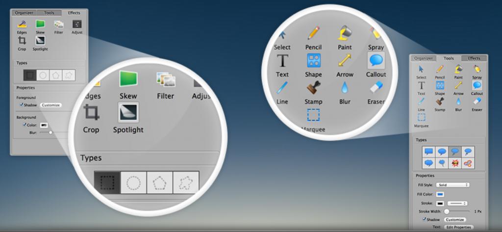 capture2 1024x473 - Voilà, une application de capture d'écran sur stéroïdes