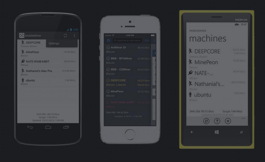 mobile miner 1024x625 - Configurer un Raspberry Pi comme mineur avec MinePeon et DualMiner [Tutoriel]