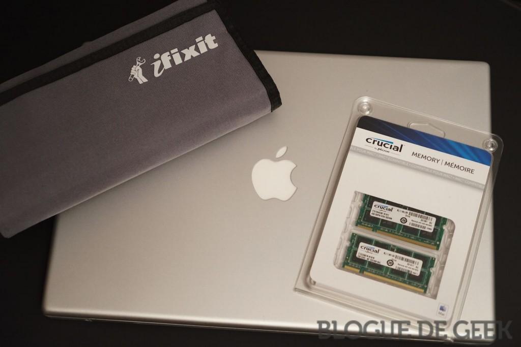 """macbook pro crucial mise a jour 02384 imp 1024x683 - Comment booster son MacBook Pro 15"""" (2007) ? [Tutoriel]"""