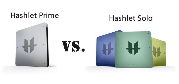 hashlet vs - Hashlet Prime vs Hashlet Solo, à quoi s'attendre