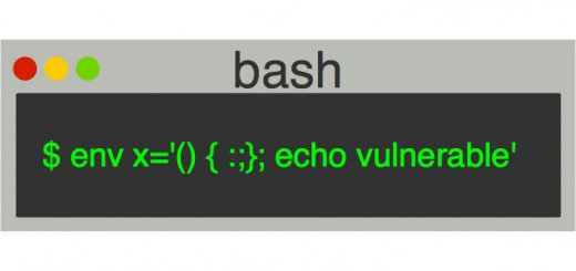 shellshock 520x245 - Comment colmater le bogue Shellshock (Bash Bug) [Tutorial]