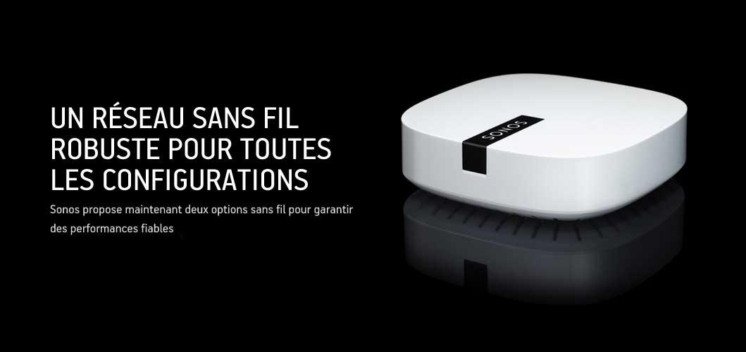 sonos maj - Sonos: nouveau BOOST et configuration sans-fil
