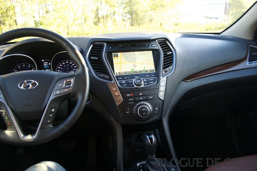 hyundai santa fe xl i16 1024x682 - Hyundai Santa Fe XL 2014 [Essai routier]
