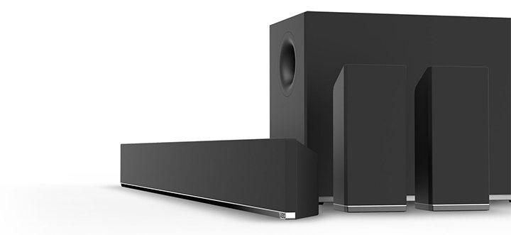 barre de son vizio s5451w c2 test. Black Bedroom Furniture Sets. Home Design Ideas